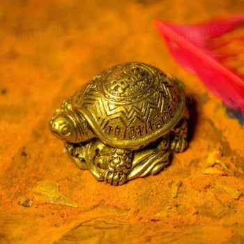Feng Shui Clay Tortoise For Luck And Fortune