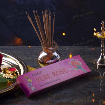 Goloka Pure Rose Agarbatti Incense