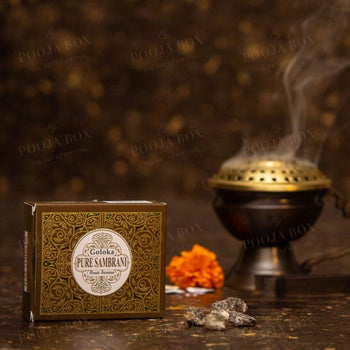 Goloka Pure Sambrani Resin Dhoop Incense