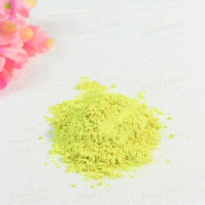 Holi Herbal Yellow Gulal Color