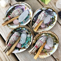 Abalone Shell Sage Holder