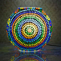 Jazzy Colorful Mosaic Table Lamp Home Decor