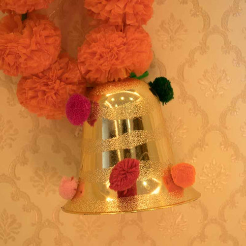 Decorative Flower Bell Hanging