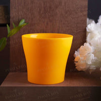 Small Yellow Planter Pot
