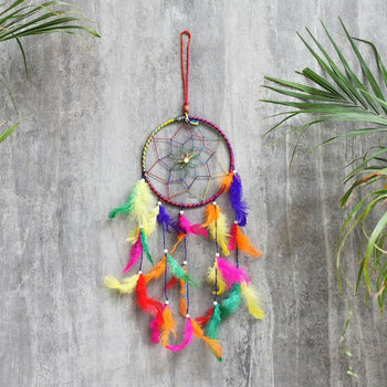 Vibrant Dream Catcher Home Decor