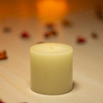 White Lemongrass Candle
