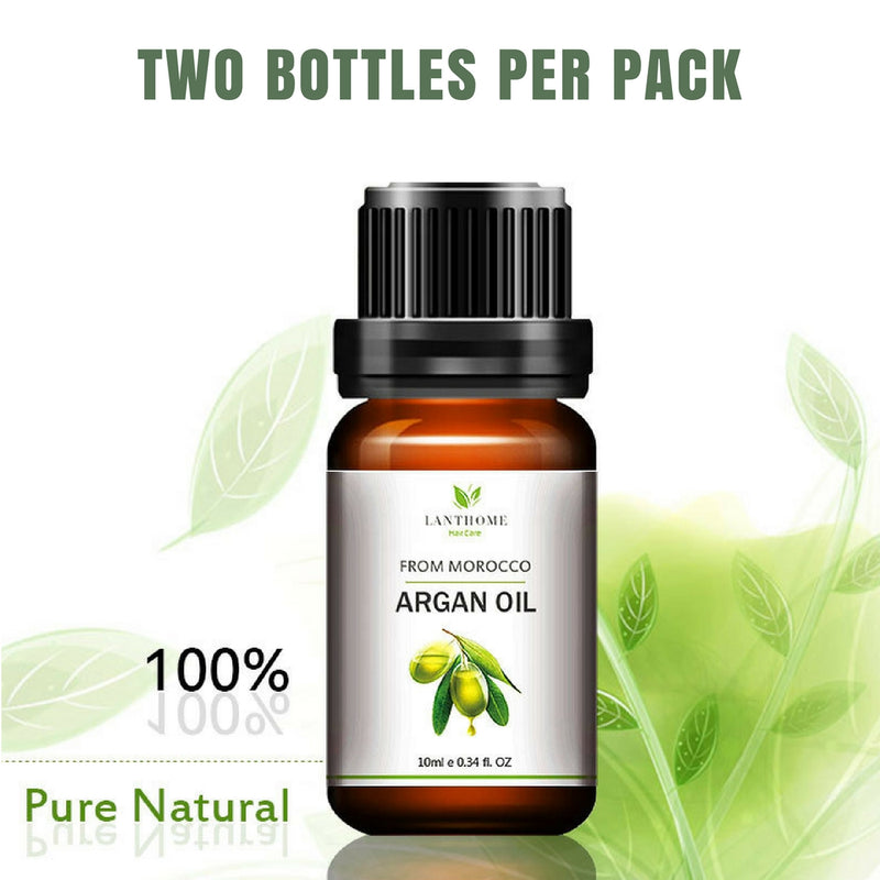 100% Pure Argan Oil - Two 10ml  Bottles