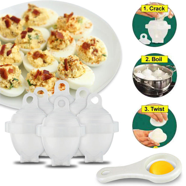 Egg Cooker Set - Effortless Breakfast