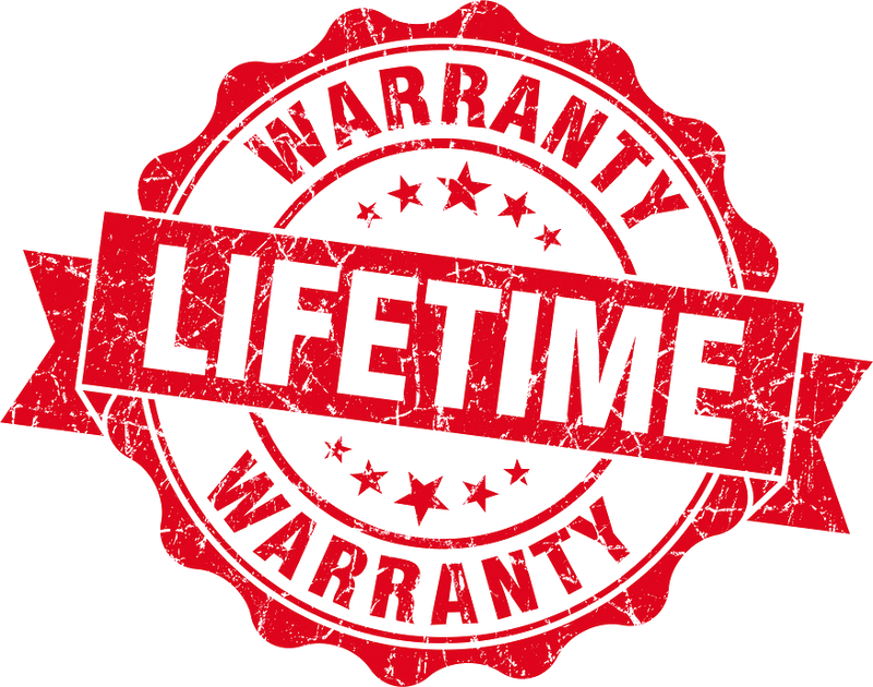 KoooLaLa Lifetime Warranty