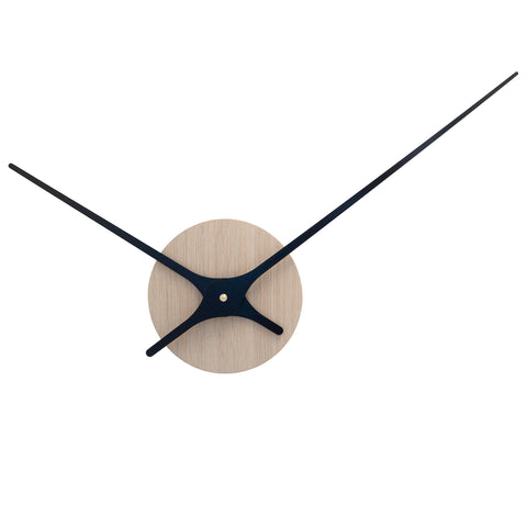Klokke-minimalistisk veggklokke-norsk-design-vegg-dekor-Lilje wall clock-clock-minimalist-design-wall-decor-Nordahl Konings-made in Norway