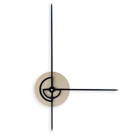 Klokke-minimalistisk veggklokke-norsk-design-vegg-dekor-Phei Wall Clock-minimalist-design-wall-decor-Nordahl Konings-made in Norway