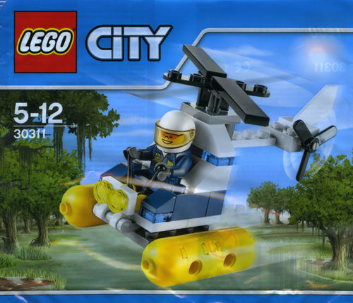 30311 LEGO City: Swamp Police Helicopter Polybag