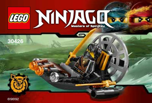 30426 LEGO Ninjago: Stealthy Swamp Airboat Polybag