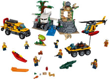 60161 LEGO CITY: Jungle Exploration Site Building Set