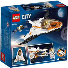 60224 Lego Satellite Service Mission Box