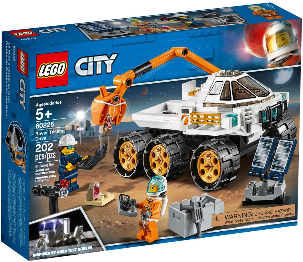 LEGO CITY 60225 Rover Testing Drive Set