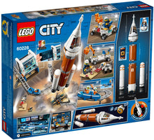 Lego City 60228 Deep Space Rocket and Launch Control Box