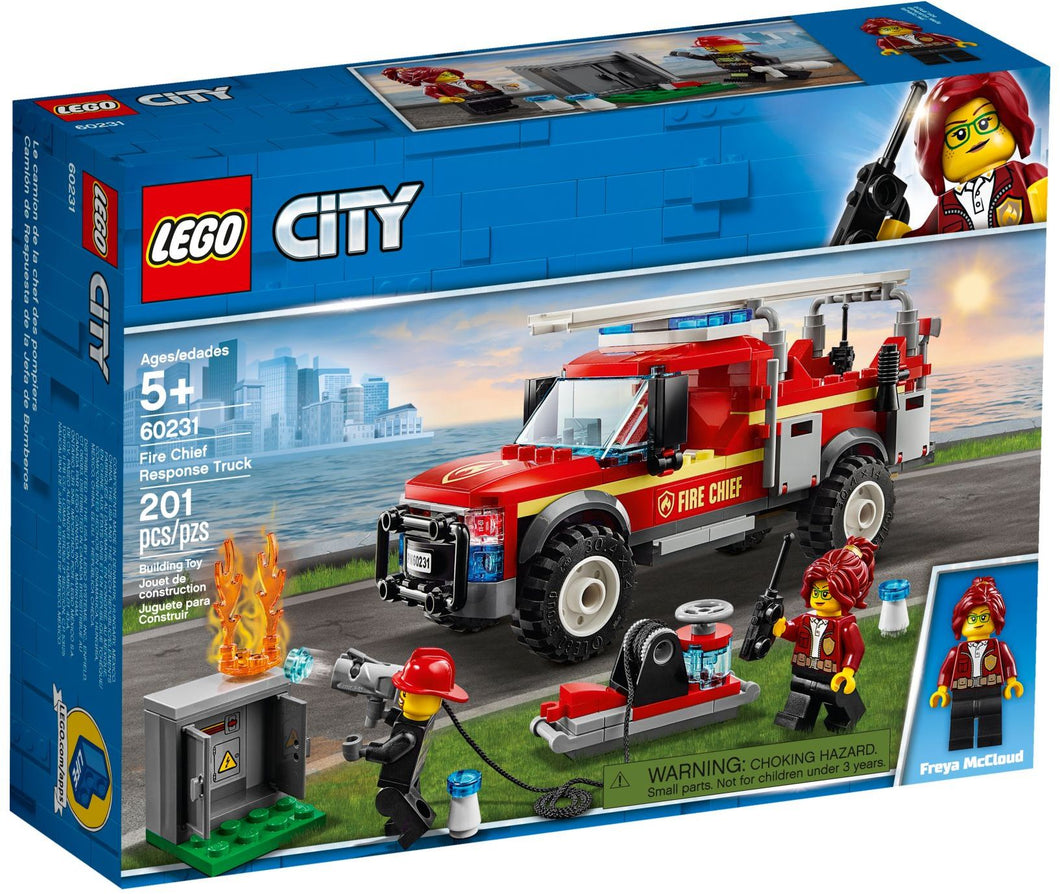 60231 LEGO CITY: Fire Chief Response Truck