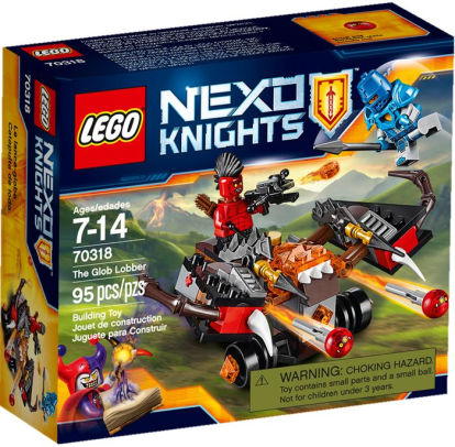 LEGO NEXO KNIGHTS 70318 The Glob Lobber Set