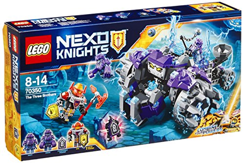 LEGO NEXO KNIGHTS 70350 The Three Brothers Set