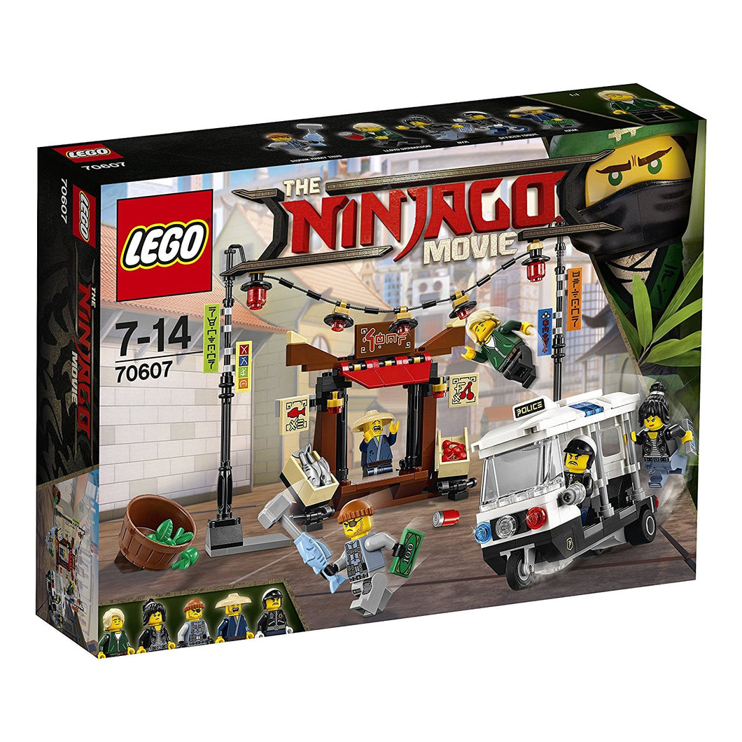 70607 LEGO NINJARGO City Chase Building Set