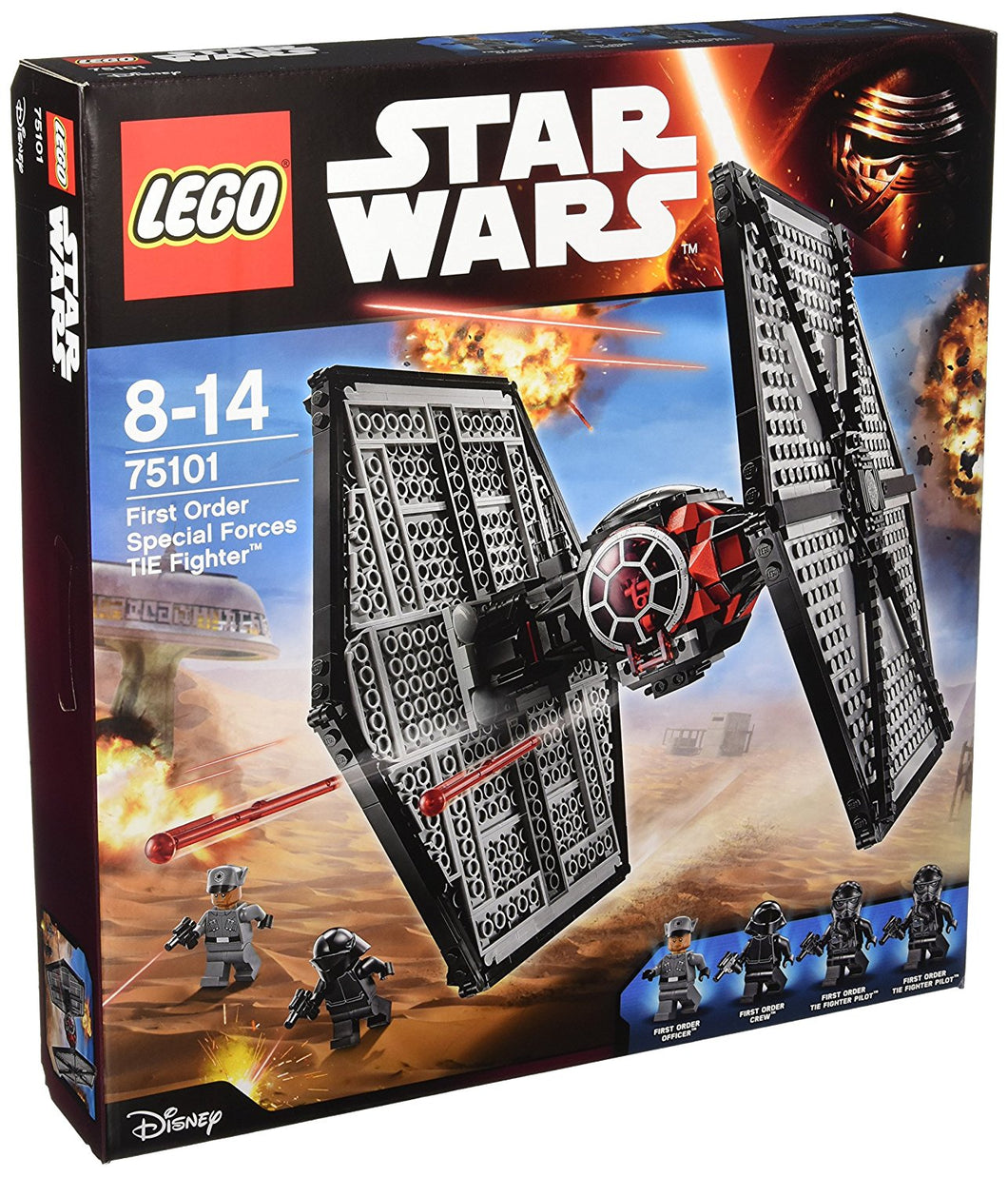 75101 LEGO Star Wars: First Order Special Forces TIE Fighter