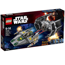 75150 LEGO Star Wars: Vader's TIE Advanced vs. A-wing Starfighter