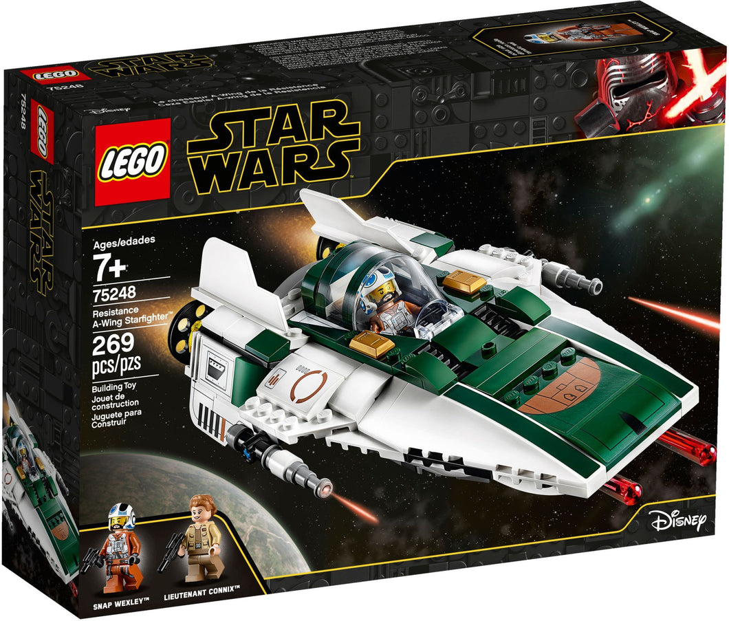 75248 Lego Star Wars A Wing Starfighter set