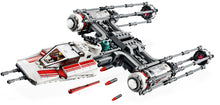75249 Lego Star Wars Y Wing Starfighter Model