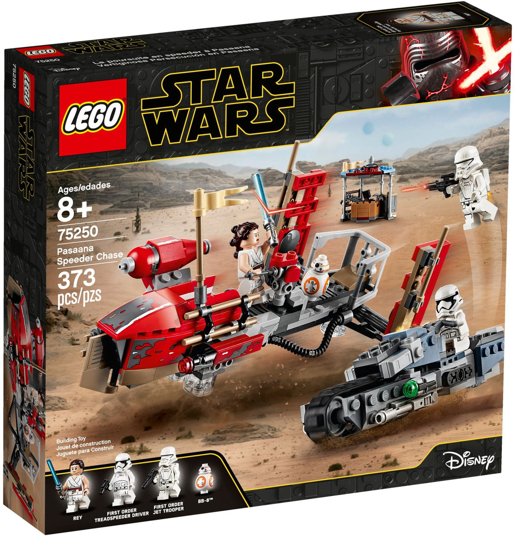 75250 LEGO Star Wars: Pasaana Speeder Chase Box