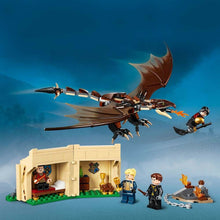 Lego Harry Potter Hungarian Horntail Dragon Scene