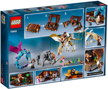 Lego 75952 Fantastic Beasts, Newt's Case of Magical Creatures Box