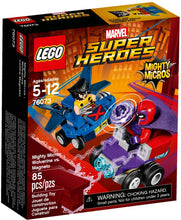 Lego 76073 Mighty Micros Wolverine vs. Magneto Box