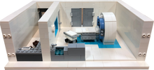 Lego CT Scanner Model