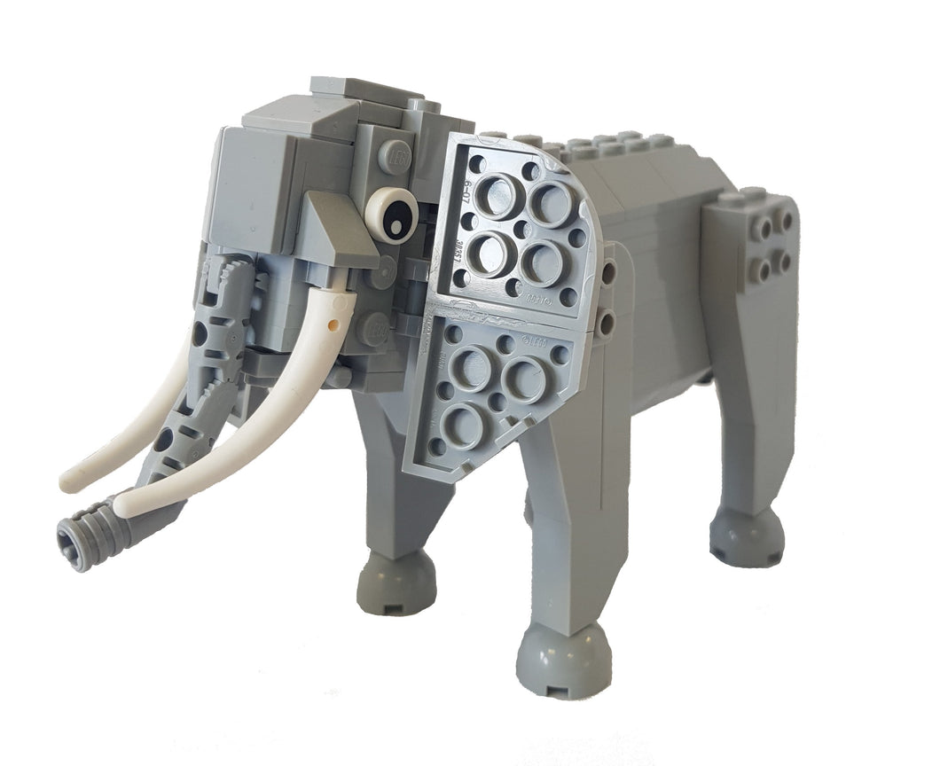 Bright Bricks Lego Elephant Model