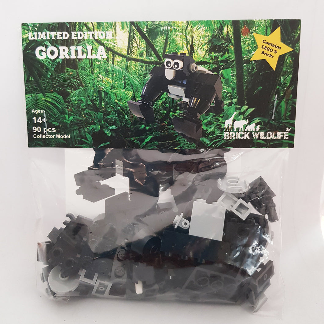 Brick Wildlife Kit - Gorilla