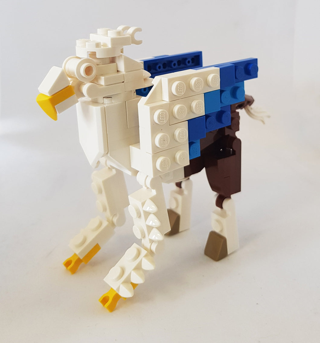 Bright Bricks Lego Hippogriff Set