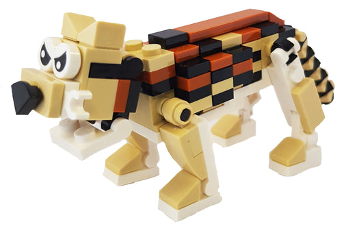 Bright Bricks Lego leopard Building Kit