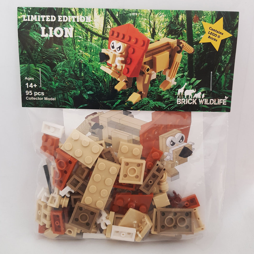 Brick Wildlife Kit - Lion