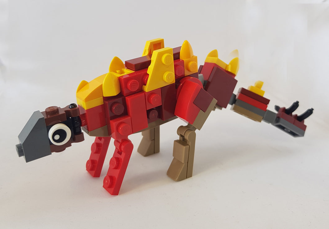 Bright Bricks Lego Stegosaurus Building Set