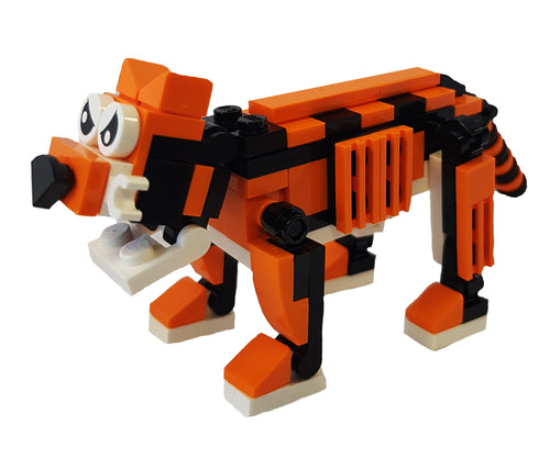 Bright Bricks Tiger Building Kit