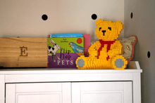 Glued Brick Teddy Bear