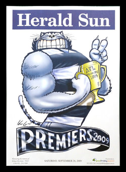 2009 AFL Cats Premiership Poster