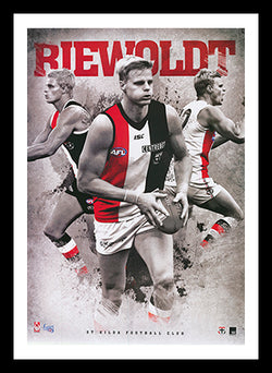 Official Nick Riewoldt Champion Poster