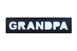 """GRANDPA"" Photo Frame - Black Mat"