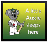 Kid's Room Sign - Aussie 2