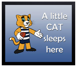 Kid's Room Sign - Cats