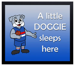 Kid's Room Sign - Doggies