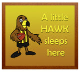 Kid's Room Sign - Hawks