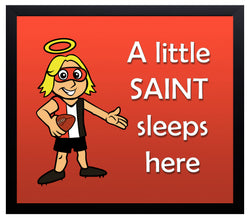 Kid's Room Sign - Saints